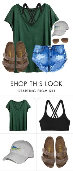 """I have 39 completed drafts"" by lydia-hh ❤ liked on Polyvore featuring H&M, Patagonia, Birkenstock and Ray-Ban"