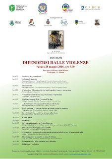 Claudia Grohovaz: Convegno Difendersi dalle Violenze, Sabato 28 Magg...