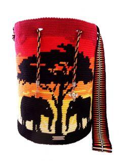 "Anleitung Mochila incl. Lehrgang ""Mochila/Single Thread Technik der Wayuu"" - Mochila-Kunsthandwerk"
