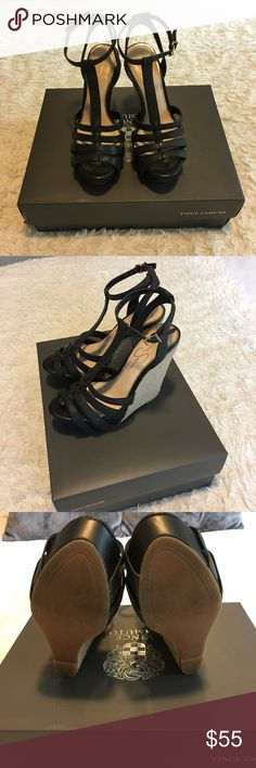 Jessica Simpson Wedges Jessica Simpson || Size 5&1/2 || Black Wedges|| Like NEW|| Worn twice|| Box is not included Jessica Simpson Shoes Wedges