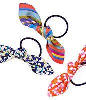 Bow Hair Ties free pattern
