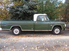 "1970 D100 Dodge Sweptline Adventurer - (our ""new"" baby, Merlin's Memory)"