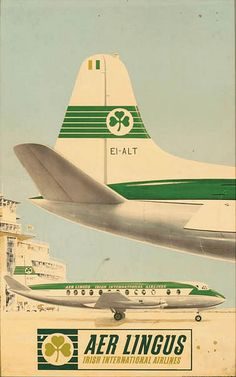 Aer Lingus - Irish International Airlines - 1950's -