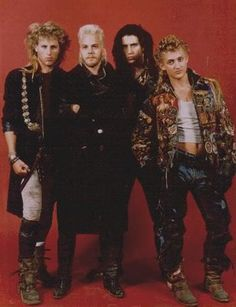 Lost Boys: nice outfits.