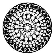 Dahlke12-mandala-rosettenfenster-kathedrale-Notre-Dame-nordfluegel.JPG 706×710 pixels