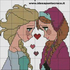 SCHEMA ELSA E ANNA FROZEN