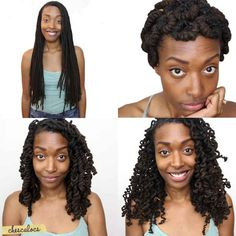 Pipe Cleaner Curls | 21 Awesome Ways To Style Your Box Braids And Locs