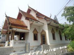 De Ordination Hall van Wat Suandok, het belangrijkste gebedshuis