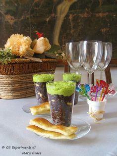 #newrecipe #fingerfood #Insalata Leggera di #Riso Venere con Marò di Fave. Azzardi gustosi.  #liguria ##appetizer