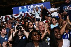 Hillary Clinton and Tim Kaine Debut Ticket in Battleground of Florida - The New York Times