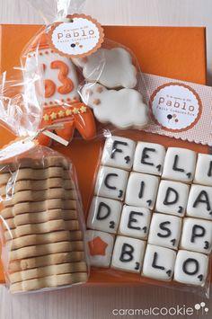 scrabble cookies   caramel cookie