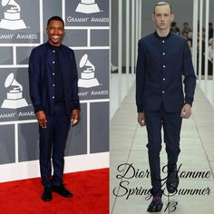 The Derek's Blog: Frank Ocean en Dior Homme - 55th Annual GRAMMY Awards
