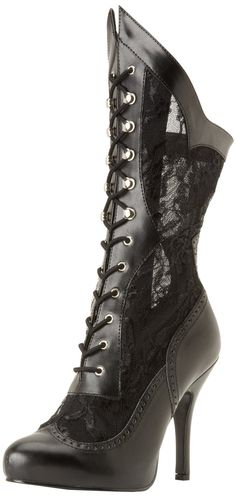Amazon.com: Funtasma Women's Victorian 116X BPU L Boot: Shoes