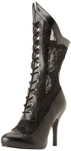 Amazon.com: Funtasma Women's Victorian 116X BPU L Boot: Shoes