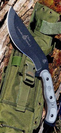 Tops Knives Bushcrafter Kukuri 7.0 Fixed Blade Knife