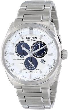 Citizen men watches : Citizen Men's BL5480-53A Eco-Drive Perpetual Calendar Chronograph Watch