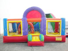 #bounce houses, #inflatable combo, #inflatable bounce houses