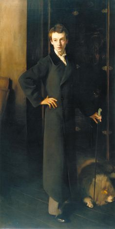 John Singer Sargent painted this portrait of W. Graham Robertson in 1894