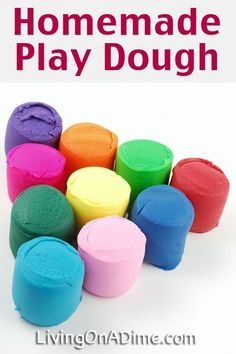 Homemade Play Dough Recipe - 14 EASY Recipes You Kids Will LOVE! >>> >>> >>> We love this at Little Mashies headquarters littlemashies.com