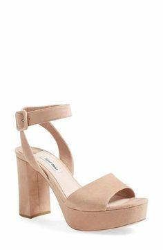 Miu Miu 'Sandali' Ankle Strap Sandal (Women)