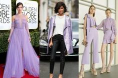 Depois do rosa claro, o lilás promete ser a cor da moda! Veja fotos Prom Dresses, Formal Dresses, Pink Purple, Ideias Fashion, Color Fashion, Fashion Trends, Summer Colors, Dresses For Ladies, Lavender