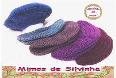0791bc4aa091f 60 melhores imagens de Boinas Toucas Chapéus