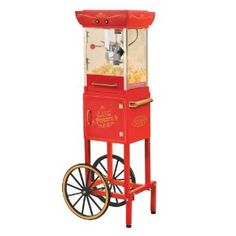 Vintage popcorn cart Big Lots 99 bucks 6/2012 .. yippee..
