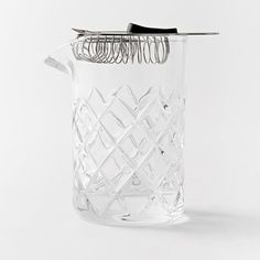 West Elm Essential Barware, Yarai Mixing Pitcher + Hawthorne Strainer
