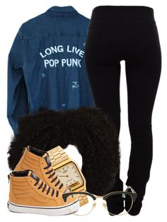 """""""4 27 16"""" by miizz-starburst ❤ liked on Polyvore featuring Helmut Lang, American Apparel, Vans and Sunday Somewhere"""