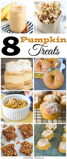 8 Pumpkin Treats perfect for Fall