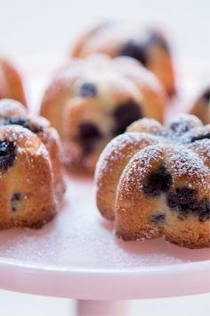 Pip's Place Blueberry Fairy Cakes (gluten free)