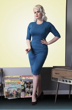 cute dress from Bettie Page...AND they have 2 stores on the Strip!