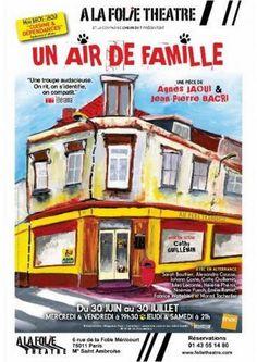 """Je n'avais plus entendu parlé de Cathy GUILLEMIN, depuis """"Emilie, ma chérie"""", qu'elle avait écrit et mis en scène en... 2010 ? J'ai vu ce soir """"Un air de famille"""", de Agnès JAOUI et Jean-Pierre BACRI, dont Cathy Guillemin signe la Mise en Scène. C'est..."""