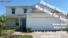 Clermont Florida New Home For Sale Tour | Maitland Model w/ Guest Suite ...