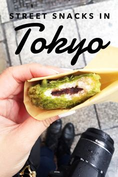 Street Snacks to Try in Tokyo — Those Who Wandr - Japan travel - There are plenty of things to eat in Tokyo, but don't spend all of your time at traditional dining settings or else you'll miss out on the amazing street food Tokyo has to offer! Tokyo Street Food, Tokyo Food, Tokyo Streets, Best Street Food, Eat Tokyo, Tokyo City, Tokyo Japan Travel, Japan Travel Guide, Japan Trip