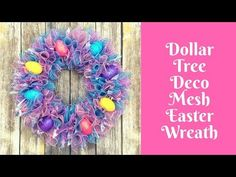 Valentines Wreath with heart shape form can be made with all Dollar Tree Items - YouTube