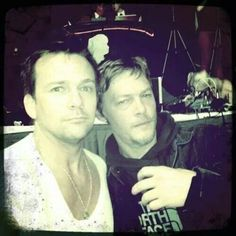 Norman Reedus and Sean Patrick Flanery / Flandus ❤