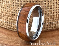 Hey, I found this really awesome Etsy listing at https://www.etsy.com/listing/226686159/wood-wedding-band-ring-anniversary