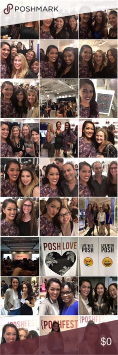 PoshFest Highlights Part 1 Collage 1 & 2: PoshFest kickoff party @ Rebecca Minkoff, Melrose Avenue, Los Angeles   Collage 3 & 4: PoshFest Day 1, California Market Center, Los Angeles  PoshFest this year by far had the biggest attendance & the programme was designed to facilitate learning based on what stage you are in your posh life! It was an unforgettable weekend full of learning, posh love, friendship & the biggest Posh party ever!!!! Other