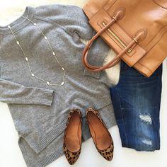 love it all sans torn jeans.