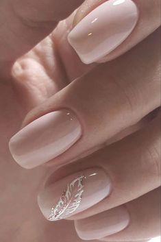 Elegant Nail Designs, Elegant Nails, Classy Nails, Simple Nails, Blush Nails, Neutral Nails, Pink Nails, Chic Nails, Stylish Nails