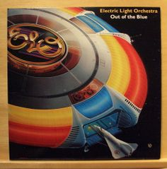 ELECTRIC LIGHT ORCHESTRA - Out of the Blue - mint minus - Vinyl LP - Poster  ELO