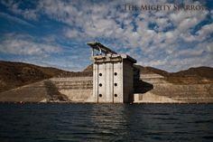 Diamond Valley Lake's main water feed, the Inland Feeder in Hemet, CA