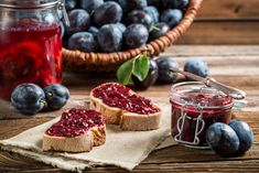 Find preserves stock images in HD and millions of other royalty-free stock photos, illustrations and vectors in the Shutterstock collection. Plum Jam Recipes, Most Delicious Recipe, Tasty, Yummy Food, Complete Recipe, Savoury Dishes, The Dish, Easy Meals, Healthy Recipes