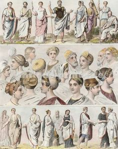 Fashion and Costume of Classic Rome
