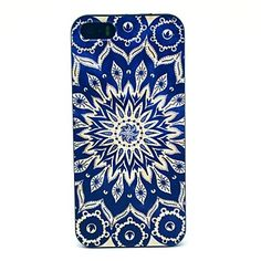 USD $ 3.99 - Blue Sun Flowers Pattern Hard Case for iPhone 5/5S , Free Shipping On All Gadgets!
