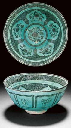 Mashad or Nishapur Timurid Bowl second half of the fifteenth century.