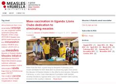 One Shot, One Life: Lions Measles Initiative Featured in Measles & Rubella Initiative Blog (8/16/12)