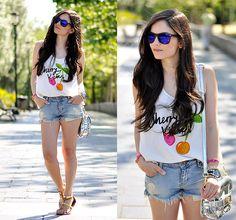 Zerouv Sunglasses, Xti Sandals - ...Cherry Kicks... - Alba .