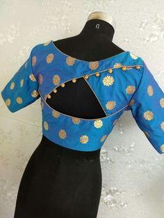 Traditional Blouse Designs, Simple Blouse Designs, Stylish Blouse Design, Blouse Back Neck Designs, Pattu Saree Blouse Designs, Blouse Designs Silk, Designer Blouse Patterns, Bridal Blouse Designs, Sleeve Designs